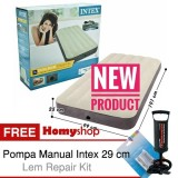 Beli Intex Durabeam Kasur Angin Kasur Tiup Kasur Udara Kasur Pompa Airbed Air Bed Kasur Portable Ukuran Single Twin Double Queen Seri 64707 64708 64709 Free Pompa Tangan Lem Repiar Kit Homyshop Homy Shop Intex Dengan Harga Terjangkau