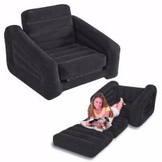 Intex Pull Out Size Twin Sofa Bed Hitam. Sofa Kasur Angin Lipat 68565