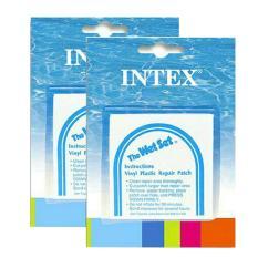 INTEX REPAIR PATCH 2 PCS untuk penambal kebocoran pelampung/kasur air