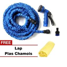 Beli Ion Magic X Hose Auto Expandable 30 M Connector B Selang Air Fleksibel Biru Gratis Ez Jet Water Canon Online
