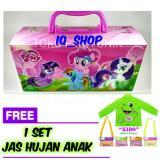 Jual Iq Tempat Kotak Pensil Karakter Kuda Poni Dengan Kode Free 1 Set Jas Hujan Anak Kido Murah Di Dki Jakarta