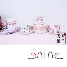 【Is Sembilan 】Original Api Kuat Burung Seri Dasar Mug Kreativitas Zakka Porselen dan Keramik Bagus Mug-Internasional