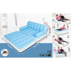 Harga Ismart Sofa Bed Kasur Angin Udara 5 Fungsi In 1 Best Quality Air Sofa Bed 5In1 Biru Termahal