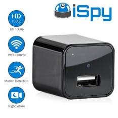 Ispy-Mata-mata Kamera Tersembunyi Di USB Dinding Pengisi Daya: portabel Mini 1080 P HD Gerakan Terdeteksi Keamanan Pengawasan Mata-mata Perekam untuk Pengasuh, Anak-anak & Orang Dewasa-Internasional