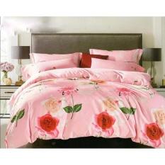 Beli Istanaku Bedcover Dan Sprei Uk 180X200 Rose Pink Dki Jakarta