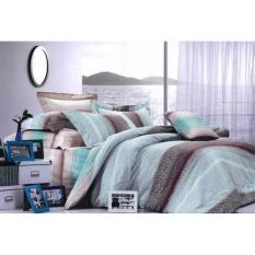 Spesifikasi Istanaku Bedcover Dan Sprei Uk 90X200 Putri Malu Biru