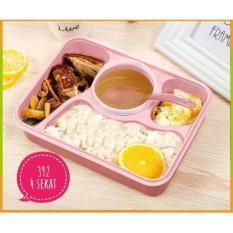 Jual Item 392 Lunch Box Yooyee Kotak Makan Sup 4 Sekat Bento Online