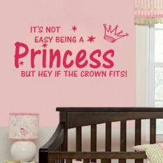 Jual Yang Tidak Mudah Menjadi Seorang Putri Putri Stiker Dinding Internasional Branded Original