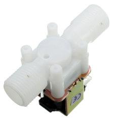 Diskon J34 Ac220V Katup Solenoid Listrik Magnet Saklar Aliran Udara Masuk Udara N C 1 5 08 Cm Branded