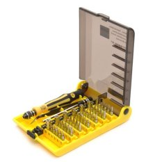 Dimana Beli Jackly 45 In 1 Precision Screwdriver Cell Mobile Phone Repair Tool Kit Set Jk 6089A Jackly