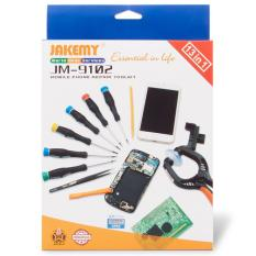 Termurah !! Jakemy 13 In 1 Mobile Phone Smartphone Screw Driver Repair Tools Set - Jm-9102 - Alat Untuk Memperbaiki Hp Handphone Smartphone Pc Laptop Multifungsi 1 Set Berkualitas