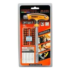 Ulasan Lengkap Jakemy 32 In 1 T Handle Screwdriver Set Alat Reparasi Jm 6105