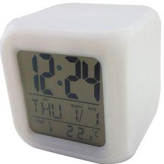 Spesifikasi Jam Led Alarm Meja Murah Berubah 7 Warna Bagus
