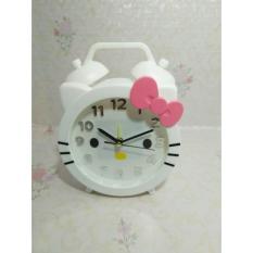 Jam Beker HELLO KITTY Jam Alarm - Putih