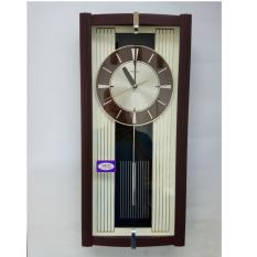 Jam Dinding Bandul SAKANA 388 besar 59x27cm Mesin bagus bergaransi