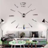 Promo Jam Dinding Besar 3D Silver Akhir Tahun