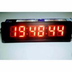 Jam Dinding Digital LED 828 / Jam Digital LED Angka BESAR Mancis Antik MURAH....!!!!