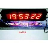 Jual Beli Jam Dinding Digital Jam Meja Mirror Face Clock Jh 828 Baru Dki Jakarta