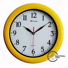 Jam Dinding Ontime 767-P1 Yellow