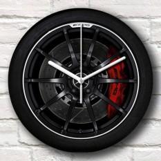 Jam Dinding Rims - Mobil Bengkel Racing Otomotif Custom Velg Pelek Wheel - Wall Clock Meja Kool Katz - Hadiah Kado Ulang Tahun III