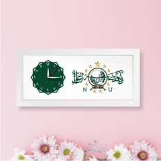 Jam JatiDiri NU Rumah Atau JatiDiri NU -  Bonus Souvenir Bross Mewah Untuk Jilbab Voile Aksesoris Untuk Muslimah