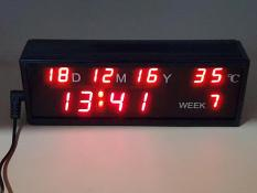 Spesifikasi Jam Led Digital Model 101 Clock 19 X 6 5 X 4 5 Cm Dan Harga