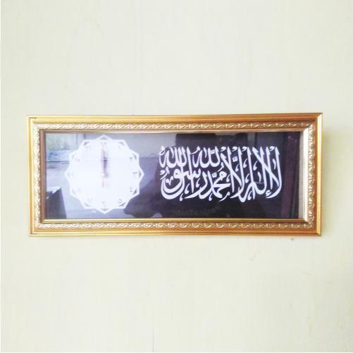 Jam Meja Kamar Tauhid - Bonus Bross Mewah Untuk Jilbab Sutra Aksesoris Untuk Pengantin