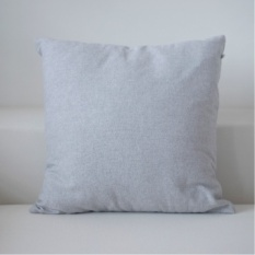 Bergaya Jepang Minimalis Plain Linen Bantal Nordic IKEA Art Kantor Sofa Bantal Tidur-Intl