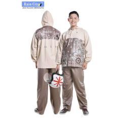 Jas Hujan Stelan Batik Sekar Rain City - 69132
