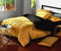 Daftar Harga Jaxine Bed Cover Katun Prada Tanpa Sprei Honey Black Jaxine