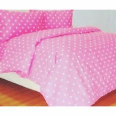 Jaxine Bed Cover Katun Tanpa Sprei Polkadot Merah Uk. SingleIDR348000. Rp 484.000