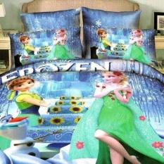 Spesifikasi Latopee Jaxine Bedcover Katun Jepang Motif Frozen Lengkap
