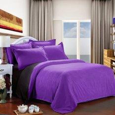 Jaxine Bedcover Katun Prada Polos Hitam Abu-AbuIDR475000. Rp 475.000