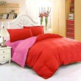 Model Jaxine Bedcover Katun Prada Polos Pink Merah Terbaru