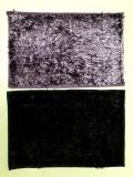 Spesifikasi Jaxine Keset Cendol Microfiber Metalic Anti Slip Warna Lilac Hitam Yang Bagus