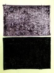 Spesifikasi Jaxine Keset Cendol Microfiber Metalic Anti Slip Warna Lilac Hitam Murah Berkualitas