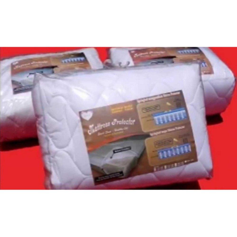 Murah Promo Superkoil Valeo Springbed Putih Tebal 24 Cm Size 160 X Mattress Matras Protector Pelindung Kasur 200 30 Jaxine Protektor