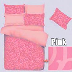 Toko Jaxine Sprei Waterproof Anti Air 160X200X20Cm Warna Ulir Pink Terdekat