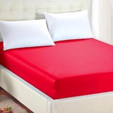 Jual Beli Jaxine Sprei Waterproof Tinggi 30Cm Warna Merah