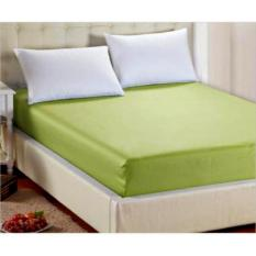 Promo Jaxine Sprei Waterproof Anti Air 160X200 Tinggi 30Cm Warna Army Green Di Di Yogyakarta