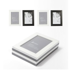 Cuci Gudang Jbrothers Frame Set 4 X 4R Hitam Putih
