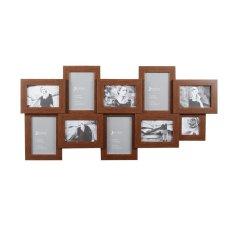 Beli Jbrothers Mix Frame 10 Openings Coklat Serat Mf 36 Secara Angsuran
