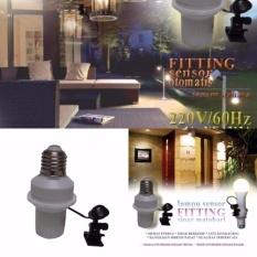 JBS Fitting Lampu Otomatis Sensor Cahaya Siang Dan Malam - Gampang di Gunakan dan Praktis