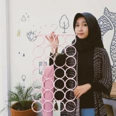 JBS - Hanger Hijab Gantungan Jilbab Multiguna - 28 Hole
