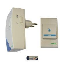 Jiamei - Bel Pintu Door Bell Wirelles Remote 32 melody AC 220V J307B (AC)