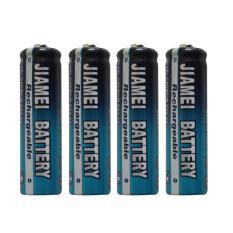 JIAMEI JM-AA 1.2V 300mAh Baterai Charge 4 pcs Nickel Cadmium Ukuran AA Baterai cas yang ramah lingkungan Awet Jika kapasitas baterai habis bisa di cas kembali