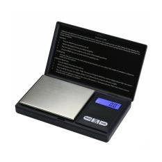 Jiaukon Perhiasan Skala Digital Pocket Scale 200 Oleh 0.01gm untuk Reload Dapur Jewellery Gold atau Koin-Hitam-Intl
