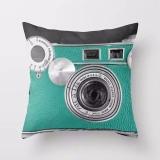 Beli Jiayiqi 3D Kamera Digital Dicetak Sarung Bantal Sofa Bantal Dekoratif Dekorasi Rumah Online Murah