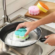 Jiayiqi 5pcs/Lot Multi-function Magic Sponge Eraser Cleaner Dish Washing Cleaning Sponge -