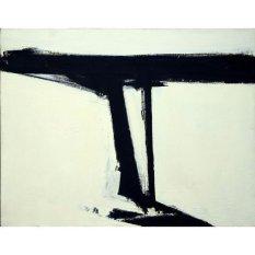 Jiekley Fine Art - Lukisan Le Gros Karya Franz Kline - 1961